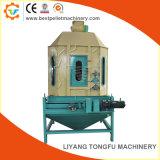 Contreflux Refroidisseur vertical de granulés de bois le refroidissement du vent la machine