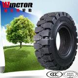단단한 타이어 제조자 28X9-15 탄력있는 단단한 포크리프트 타이어 8.15-15