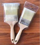 Hölzerner Griff-Lack-Pinsel mit 100% der reinen Borste fabrikmäßig hergestellt