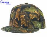 カスタムCamoの文書6のパネルのStrapbackの帽子の帽子