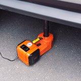 Levantamento elétrico Jack da cor alaranjada de 4 funções com a chave de impato para o elevador do sedan