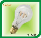 Lampadina della radura LED del filamento della vite A19