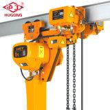 Grua Chain elétrica da baixa altura livre de uma capacidade de 5 toneladas com limitador de carga