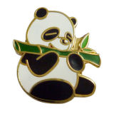Pin animal modificado para requisitos particulares de la solapa del esmalte de la panda del tesoro nacional chino (XD-0203)