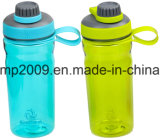 700ml/24oz BPA livram a garrafa de água do abanador da proteína do esporte de Tritan com o misturador do aço inoxidável e a esfera do plástico