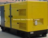 генератор Cummins резервной силы 310kVA 250kw звукоизоляционный тепловозный