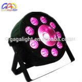 NENNWERT Licht des 9PCS*9W 3in1 RGB+1PCS PFEILER China-NENNWERT LED helles hohe Helligkeit PFEILER-LED