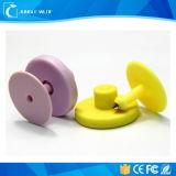 De populaire UHFMarkering van het Oor van het Beheer RFID van het Vee van het Landbouwbedrijf 860-960MHz Dierlijke
