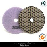 100mm Diamond Polishing Pads secs pour la pierre