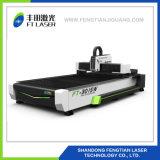 laser d'acciaio della fibra del metallo di CNC 1000W che incide 3015