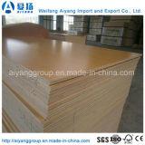 Madera contrachapada ecológica impermeable de la melamina del papel de madera del grano para los muebles de lujo