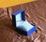 Rectángulo de almacenaje de papel del reloj con la almohadilla del terciopelo
