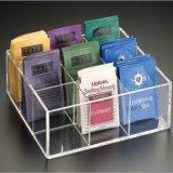 カスタマイズされたアクリルの茶ボックス荷箱、美しくおよび実用的な透過アクリルボックス