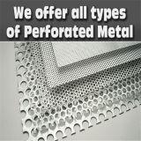 Heet Verkopend Aluminium Geperforeerd Metaal