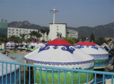 生存のための良質のタケフレームのYurtのモンゴルのテント