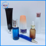 Produit de beauté en plastique à extrémité élevé d'animal familier empaquetant pour des soins de la peau ou le renivellement