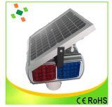 LED piscando tráfego Solar luz de advertência