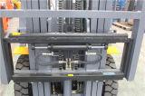 日本のディーゼル機関のフォークリフト2500kg中国2.5tonのフォークリフトの価格
