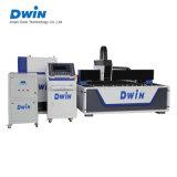 Machine de découpage inoxidable de laser de fibre de commande numérique par ordinateur d'acier du carbone