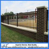 Загородка черного порошка высокого качества Coated стальная для стены сада