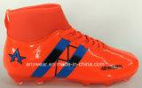 Открытый футбол обувь подошва из термопластичного полиуретана обувь спорта бутсы (177S)