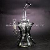 Bestes verkaufendes schwarze Farben-Glasrecycler-Wasser-Rohr Czs043