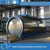 Los residuos de destilación de reciclaje de aceite del motor de la máquina