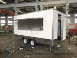 Neue 2018 beiliegender Food Car Van Package Australien Standardfaser-Glas-mobiler Nahrungsmittelschlußteil