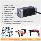 6V-36V BLDC Electric Brushless gelijkstroom Geared Motor voor Tools