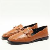 新しいデザインShoes平らで柔らかい最下の余暇の女性