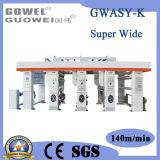 Stampatrice automatica speciale di rotocalco di Ultra-Larghezza
