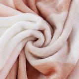 中東100%年のポリエステル高品質のミンクのRaschel毛布