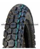 2.75-18 Motorrad zerteilt schwarzen Motorrad-Reifen mit populärem Muster