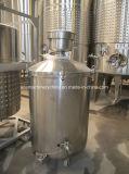 Inclinado (Inclinada para tanques de capacidade variável inferior) (Non-Jacketed)