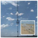 Оцинкованные стальные решетки Guyed мобильной связи GSM в корпусе Tower