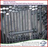 Il filetto filettato galvanizzato tuffato caldo Rod tutto della vite prigioniera filetta il bullone della vite prigioniera