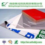 Película protectora de PE/PVC/Pet/BOPP para la tarjeta de aislante Stone-Like de la capa