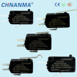 Interruptor micro de los contactos V15 tres con el certificado del Ce (V-15-1C25)