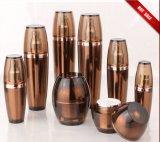Bottiglie acriliche ambrate della lozione di vendita calda con i vasi (EF-C02)