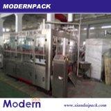 Máquina automática de llenado de líquido de la botella con la capsula y Etiquetado