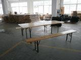 Cerveja de dobragem de madeira de abeto sólido quadro define fabricados na China
