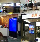Pavimento che si leva in piedi '' visualizzazione commerciale dell'affissione a cristalli liquidi di pubblicità esterna 55