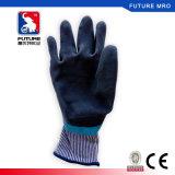 Prueba de agua Aqua mano protectora capa de látex trabajador Utilice guantes