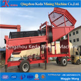 Scherm van de Zeeftrommel van de Was van de Machine van de Mijnbouw van de Placer van de Prijs van de fabriek het Gouden