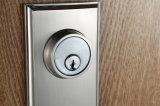 Античный сплав цинка ручек двери приспосабливает справедливо/левша замок дверей