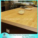 Dessus en bois normal de Tableau de Worktop de partie supérieure du comptoir de bloc de boucher