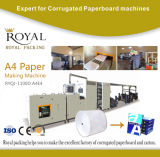 Automatischer PapierA4 produktionszweig, Papierausschnitt A4 und Verpackmaschine mit ISO