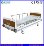 医療機器の贅沢3の機能プラスチックSiderailの手動病院用ベッド