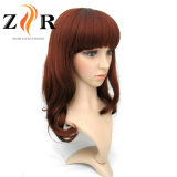 Perruque synthétique anti-calorique de cheveu de qualité