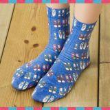 Fabrik passen neue Mann-und Frauen-helle Farben-Socken an